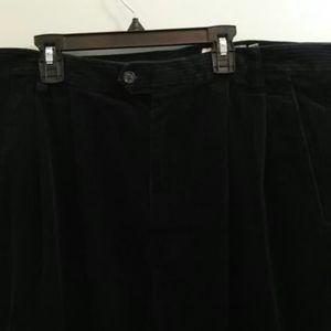 Eddie Bauer Navy Blue Corduroy Pants 36-34